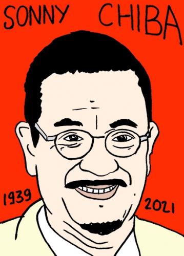 mort de Sonny Chiba,dessin,portrait,laurent Jacquy