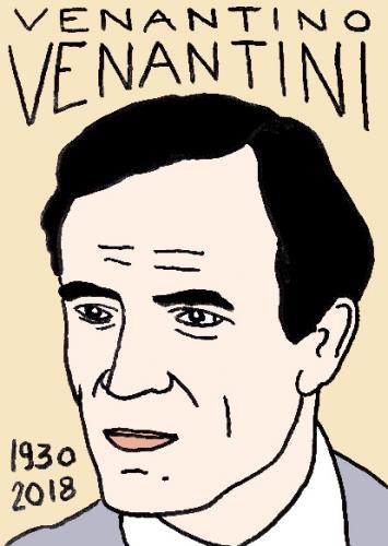 mort de Venantiono venantini, dessin, portrait, laurent jacquy,répertoire des macchabées célèbres,mort d'homme,