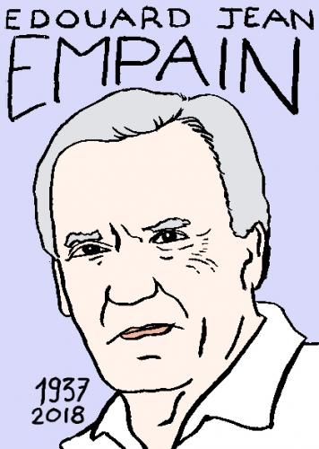 mort de jean-edouard empain, dessin, portrait, laurent jacquy,répertoire des macchabées célèbres,mort d'homme,
