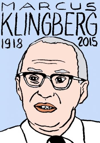 mort de marcus klingberg, dessin, portrait, laurent jacquy,répertoire des macchabées célèbres,mort d'homme,