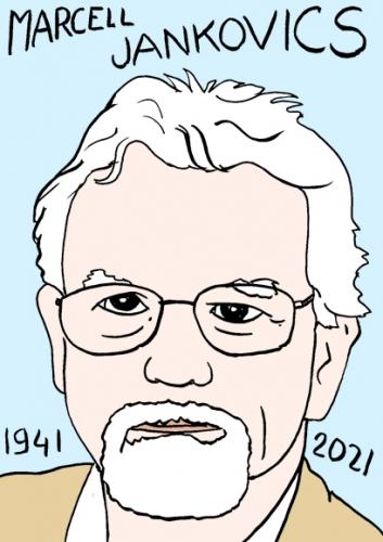mort de marcell Jancovics,dessin,portrait,laurent Jacquy,poésie