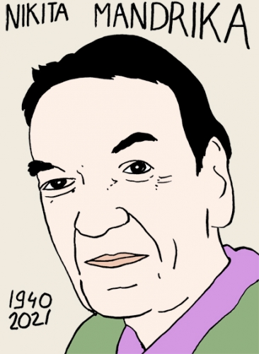 mort de Nikita Mandrika,dessin,portrait,laurent Jacquy