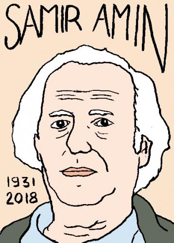 mort de Samir Anim, dessin, portrait, laurent jacquy,répertoire des macchabées célèbres,mort d'homme,