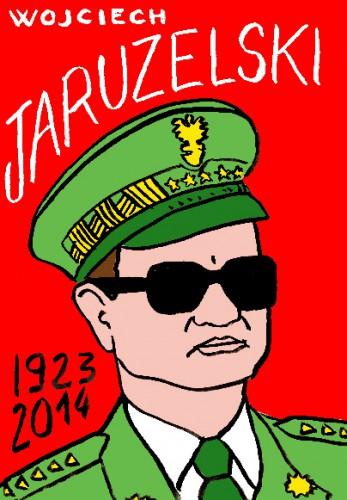 mort de Wojciech Jaruzelski,portrait,dessin,laurent jacquy,répertoire des macchabées célèbres