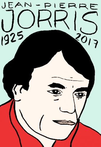 mort de Jean Pierre orris, dessin, portrait, laurent jacquy,répertoire des macchabées célèbres,mort d'homme,