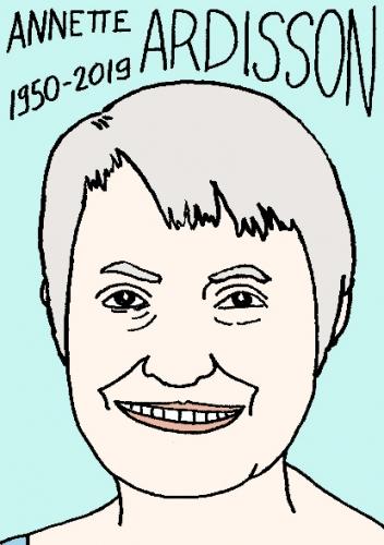 mort de Annette Ardisson, dessin, portrait, laurent jacquy,répertoire des macchabées célèbres,mort d'homme,