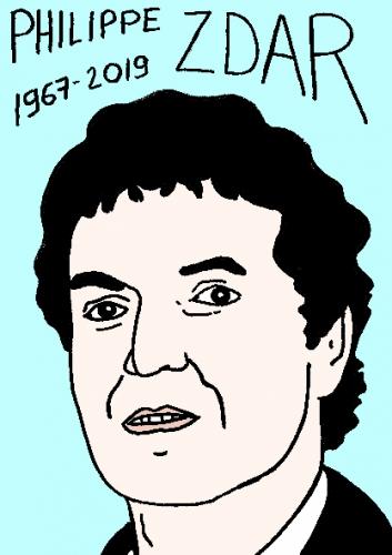 """mort de Philippe """"Zdar"""" Cerboneschi, dessin, portrait, laurent jacquy,répertoire des macchabées célèbres,mort d'homme,"""