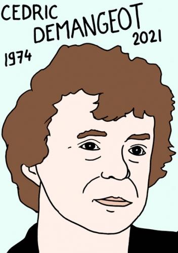 mort de Cedric Dermangeot, dessin,portrait,laurent Jacquy