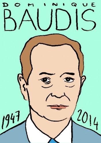 mort de dominique baudis,portrait,dessin,laurent jacquy,répertoire des macchabées célèbres,mort d'homme