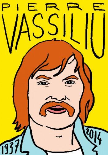 mort de pierre vassiliu,dessin,portrait,laurent jacquy,répertoire des macchabées célèbres