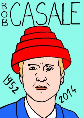 mort de bob casale,dessin,portrait,laurent jacquy,mort d'homme,répertoire des macchabées célèbres,mort d'homme,musique