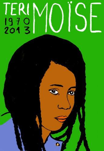 Teri Moïse,dessin,portrait,laurent jacquy,art modeste,artsingulier,les beaux dimanches