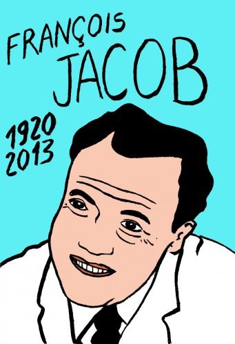 françois Jacob,portrait,dessin,Laurent Jacquy,mort d'homme,Les beaux dimanches,art singulier,french outsider,dprix nobel,médecine