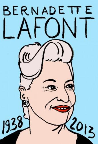 Bernadette Lfont,dessin,portrait,laurent jacquy,art singulier,french outsider,les beaux dimanches,répertoire des macchabées célèbres