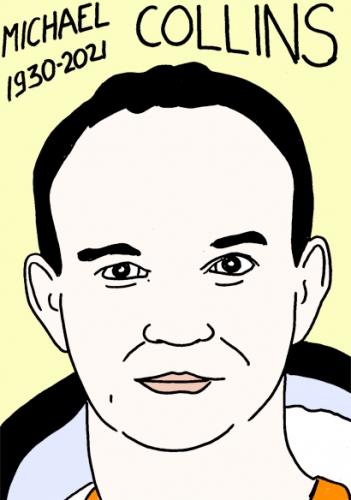 mort de Michael Collins,dessin,portrait,laurent Jacquy,Espace
