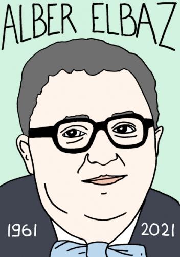 mort d'Alber Elbaz,dessin,portrait,laurent Jacquy,design