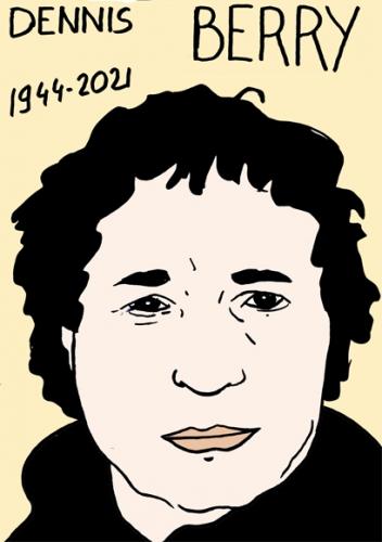 mort de Dennis Berry,dessin,portrait,laurent Jacquy