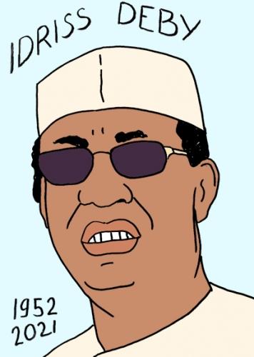 mort d'Idriss déby,portrait,laurent Jacquy,Tchad