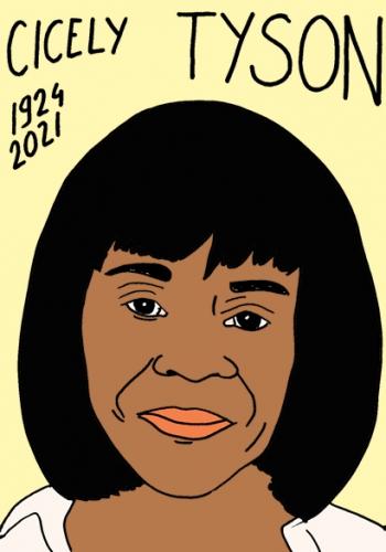 mort de Cicely Tyson,dessin,portrait,laurent Jacquy