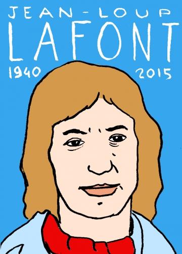 mort de jean-loup L, dessin, portrait, laurent jacquy,répertoire des macchabbées célèbres, visage,mort d'homme