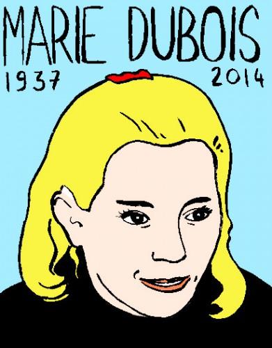 mort de marie dubois,dessin,portrait,répertoire desmacchabées célèbres