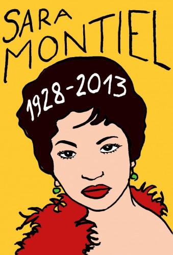 Sara Montiel,portrait,dessin,Laurent Jacquy,mort d'homme,Les beaux dimanches,art singulier,french outsider