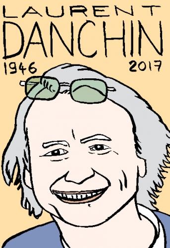 mort de laurent danchin, dessin, portrait, laurent jacquy,répertoire des macchabées célèbres,mort d'homme,