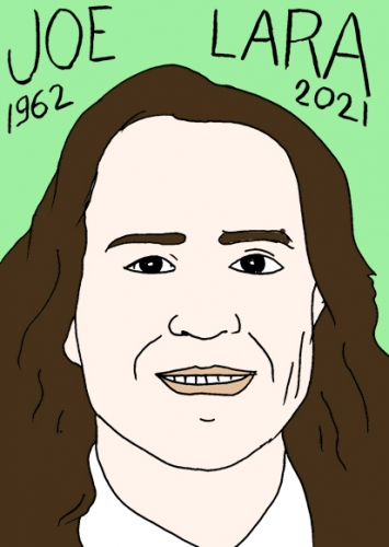 mort de Joe Lara,dessin,portrait,laurent Jacqu