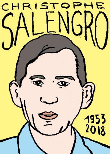 mort de christophe salengro, dessin, portrait, laurent jacquy,répertoire des macchabées célèbres,mort d'homme,