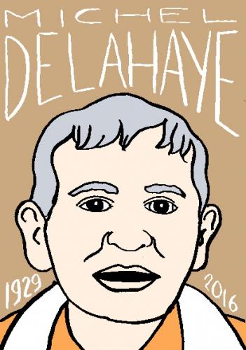 mort dmiche delahaye, dessin, portrait, laurent jacquy,répertoire des macchabées célèbres,mort d'homme,