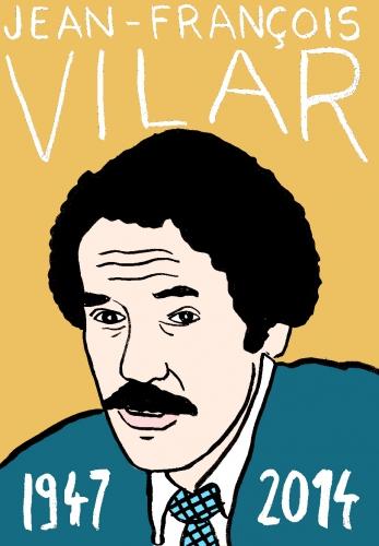 mort jean françois Vilar,dessin,portrait,laurent jacquy,répertoire des macchabées célèbres
