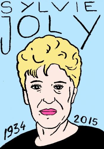 mort de sylvie joly, dessin, portrait, laurent jacquy,répertoire des macchabbées célèbres, visage,mort d'homme
