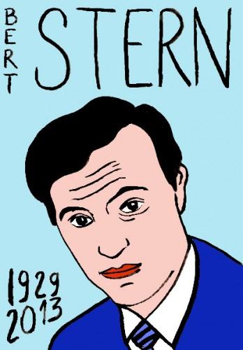 Bert Stern,dessin,portrait,art singulier,art modeste,Laurent Jacquy,Mort d'homme,les beaux dimanches