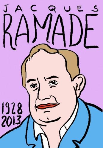 Jacques Ramade,dessin,portrait,laurent jacquy,art singulier,french outsider,les beaux dimanches,répertoire des macchabées célèbres