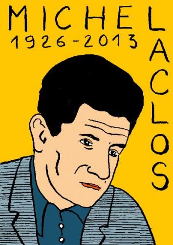 Michel Laclos,portrait,dessin,laurent jacquy,art modeste,art singulier,les beaux dimanches
