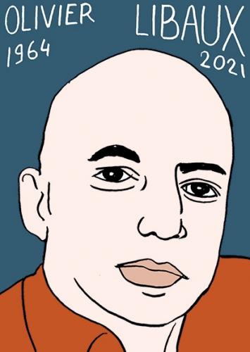 mort d'Olivier Libaux,dessin,portrait,laurent Jacquy