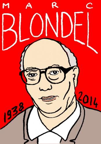 mort des marc blondel,portrait,dessin,laurent jacquy,répertoire des macchabées célèbres,mort d'homme,art modeste