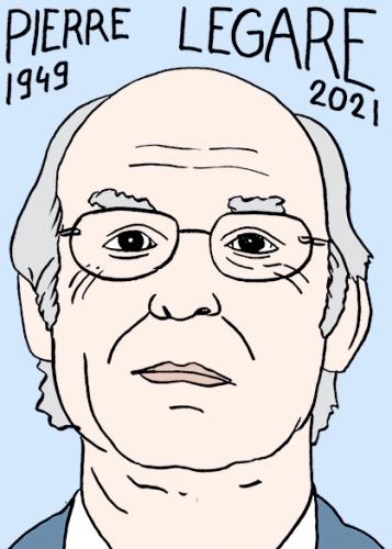 mort de Pierre Légaré,dessin,portrait,laurent Jacquy