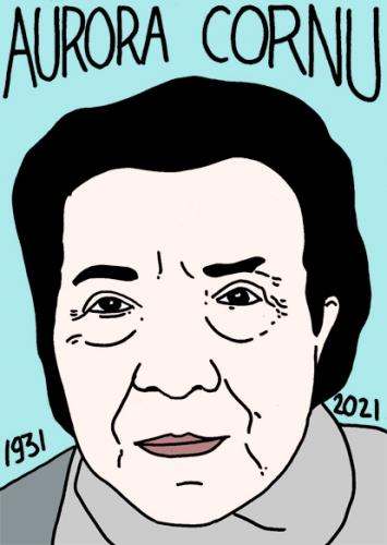 mort d'Aurora Cornu,dessin,portrait,laurent Jacquy,poésie
