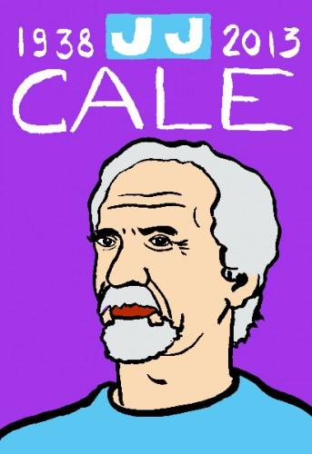 JJ Cale,dessin,portrait,laurent jacquy,art singulier,french outsider,les beaux dimanches,répertoire des macchabées célèbres