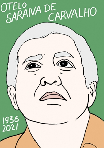 mort de Otelo Saraiva De Carvalho,dessin,portrait,laurent Jacquy