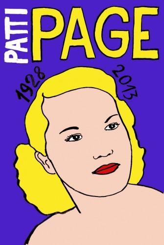 Patti Page,Portrait,dessin,laurent Jacquy,french Outsideur,Célébrité,mort,répertoire des macchabées célèbres,décés,illustrateur,illustration