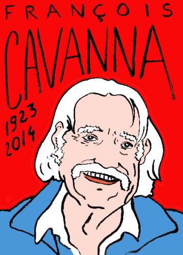 mort de françois cavanna,dessin,portrait,laurent jacquy,mort d'homme,répertoire des macchabées célèbres,art modeste,
