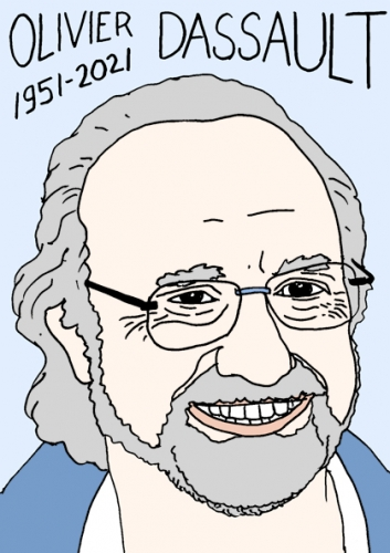mort d'olivier Dassault,dessin,portrait,laurent Jacquy