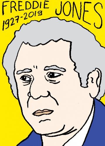 mort de Freddie Jonesi, dessin, portrait, laurent jacquy,répertoire des macchabées célèbres,mort d'homme,
