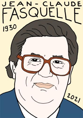 mort de Jean-Claude Fasquelle,dessin,portrait,laurent Jacquy
